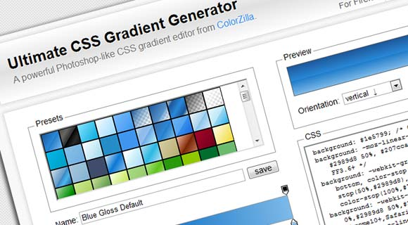 Ultimate-CSS-Gradient-Generator—ColorZilla