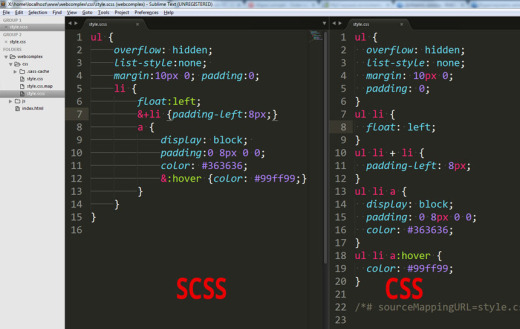 scss-nested